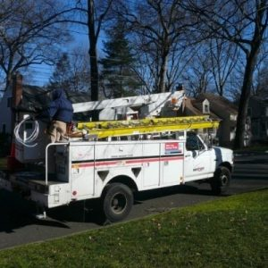 FIOS outage at parish office